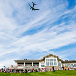 Boeing Classic Flyover