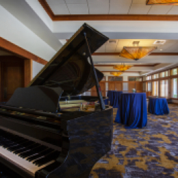 Grand Piano in Cascadia Ballroom